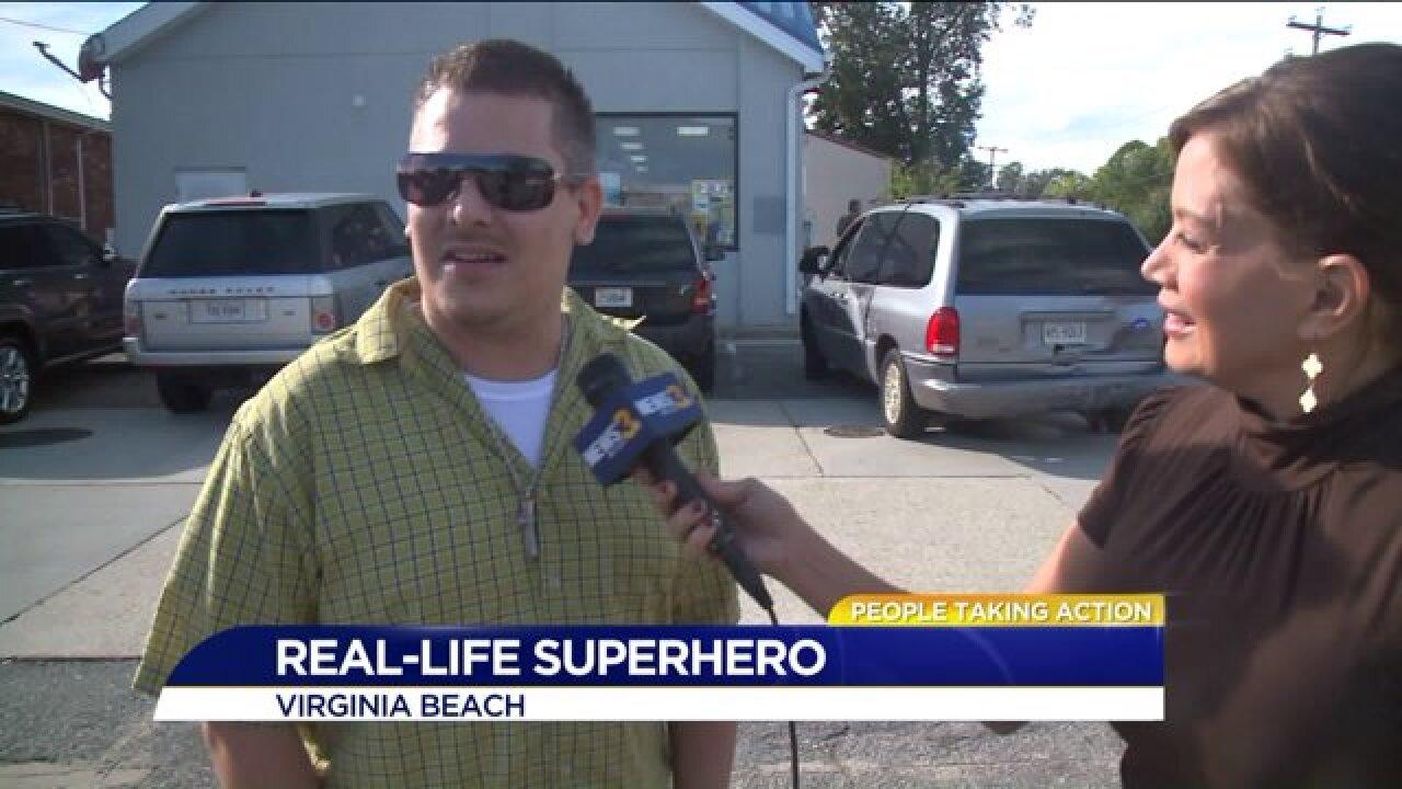 People Taking Action: Good Samaritan helps strandeddriver