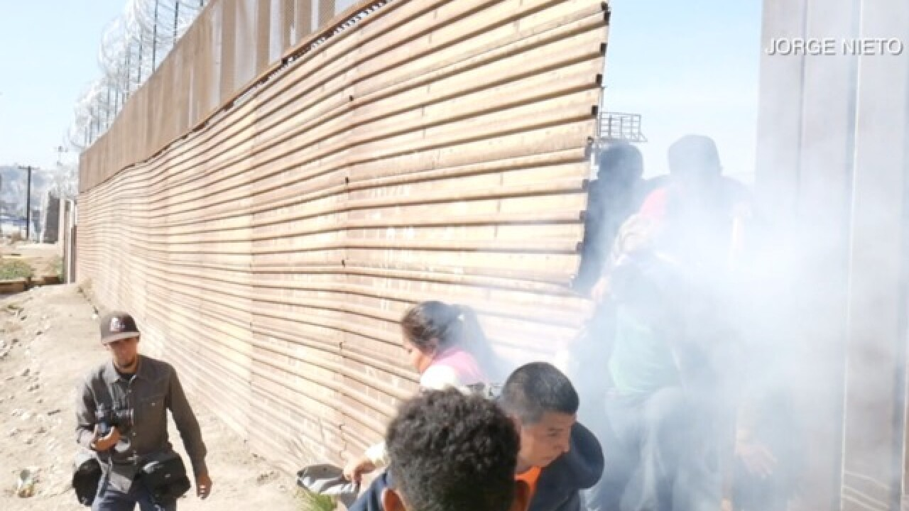 BP official defends use of tear gas on migrants