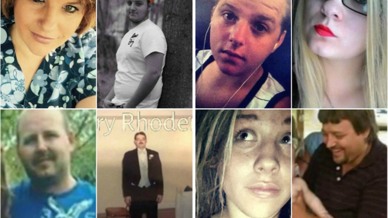 Four people arrested in 2016 deaths of 8 members of Ohio family