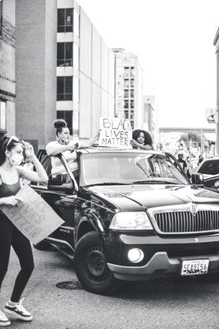 Protesters gather in Baltimore City