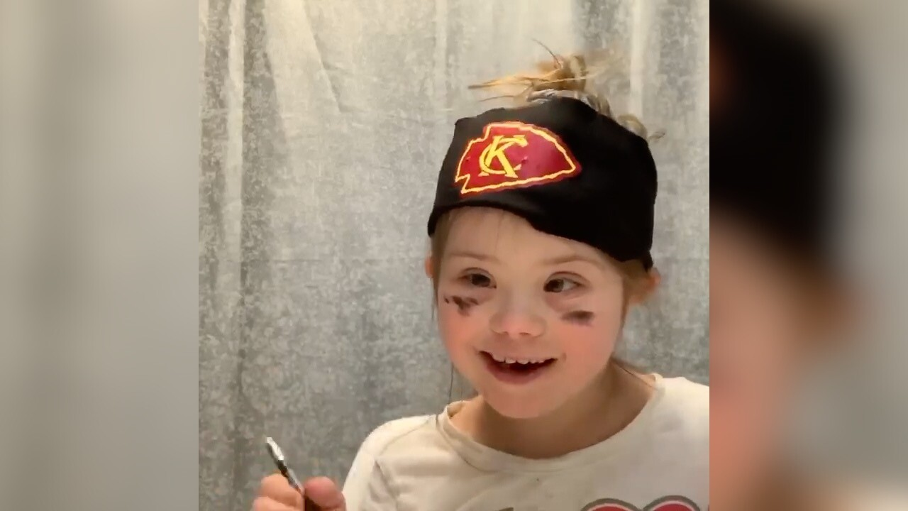 An 8-year-old Chiefs fan made a viral beauty video about Patrick Mahomes and it's adorable