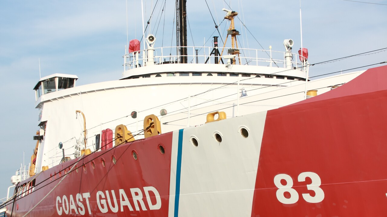 Coast Guard issues severe weather advisory for Port of Virginia