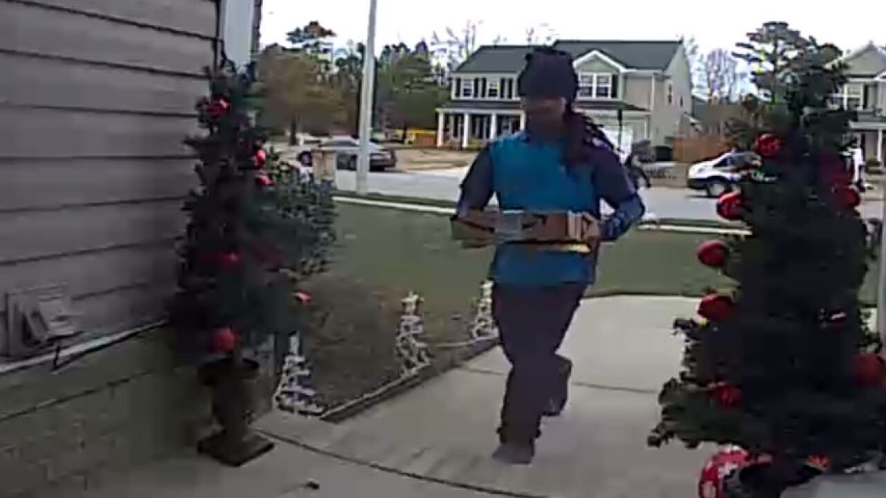 Delivery man leaves more than packages at a V.B. home; owners need help finding him to say 'thank you'