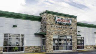 Get a free Krispy Kreme doughnut when you wear your Halloween costume on Oct. 31