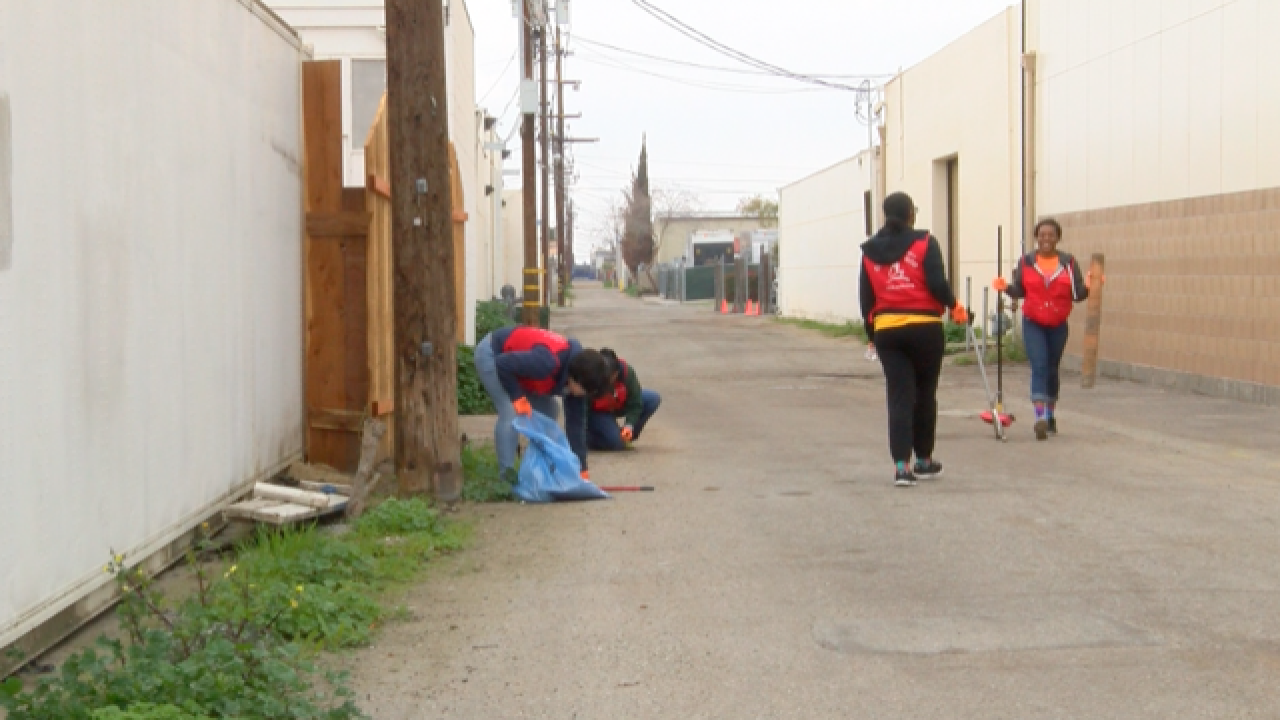 Local church holds clean-up event in Bakersfield