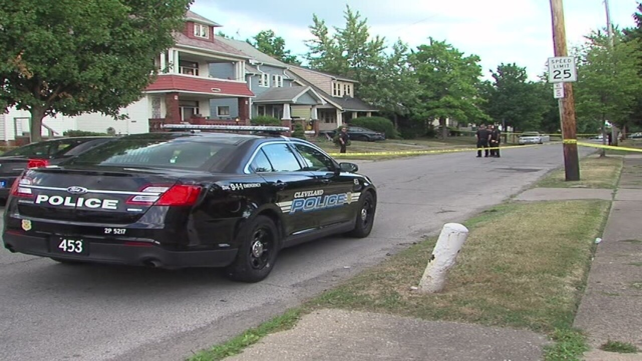 Child, 2, shot on East 146th Street in Cleveland