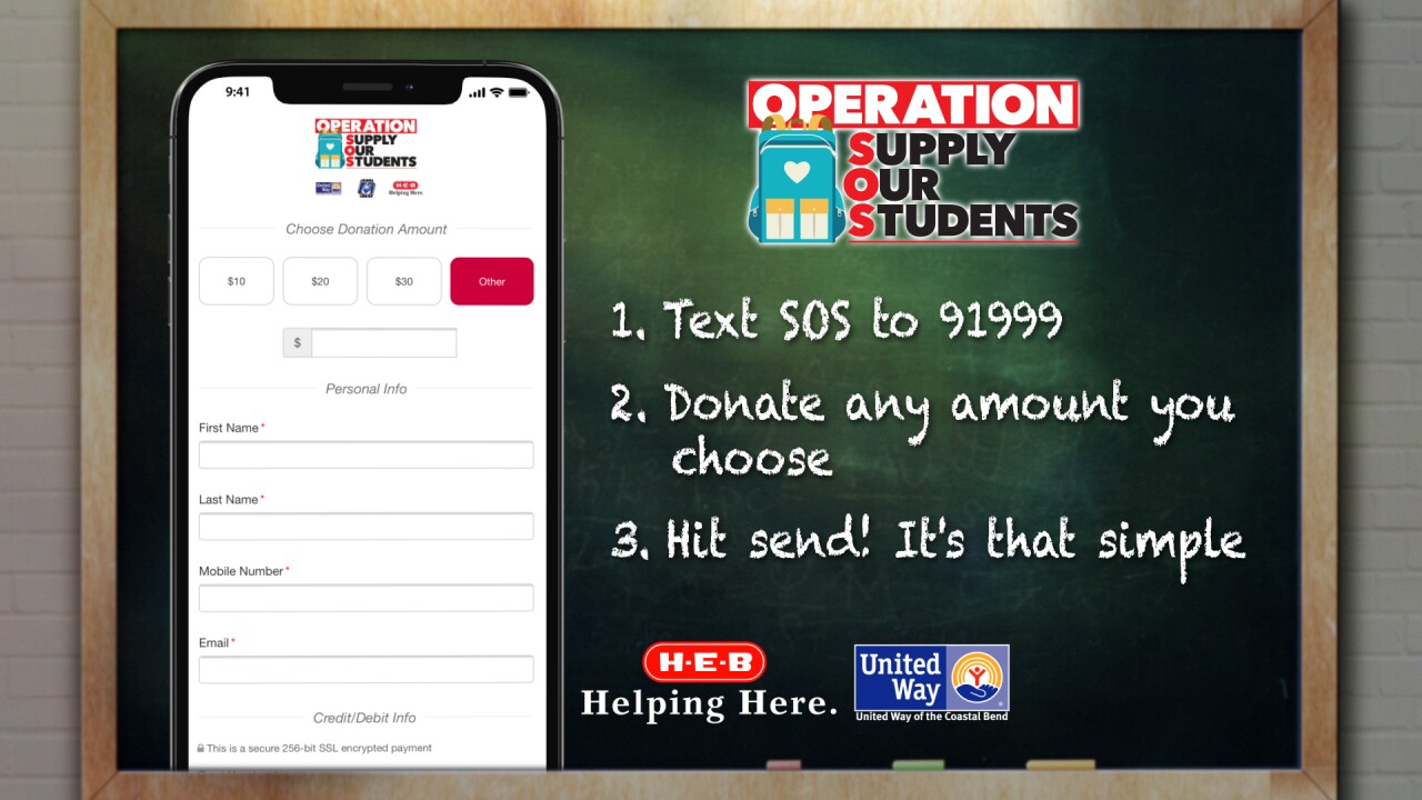 Operation Supply Our Students