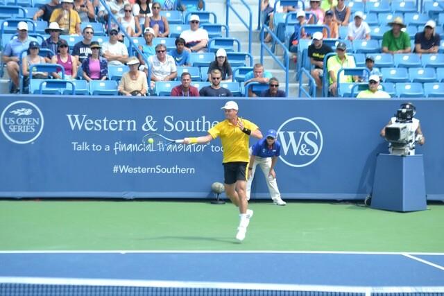 Top tennis stars compete in Ohio