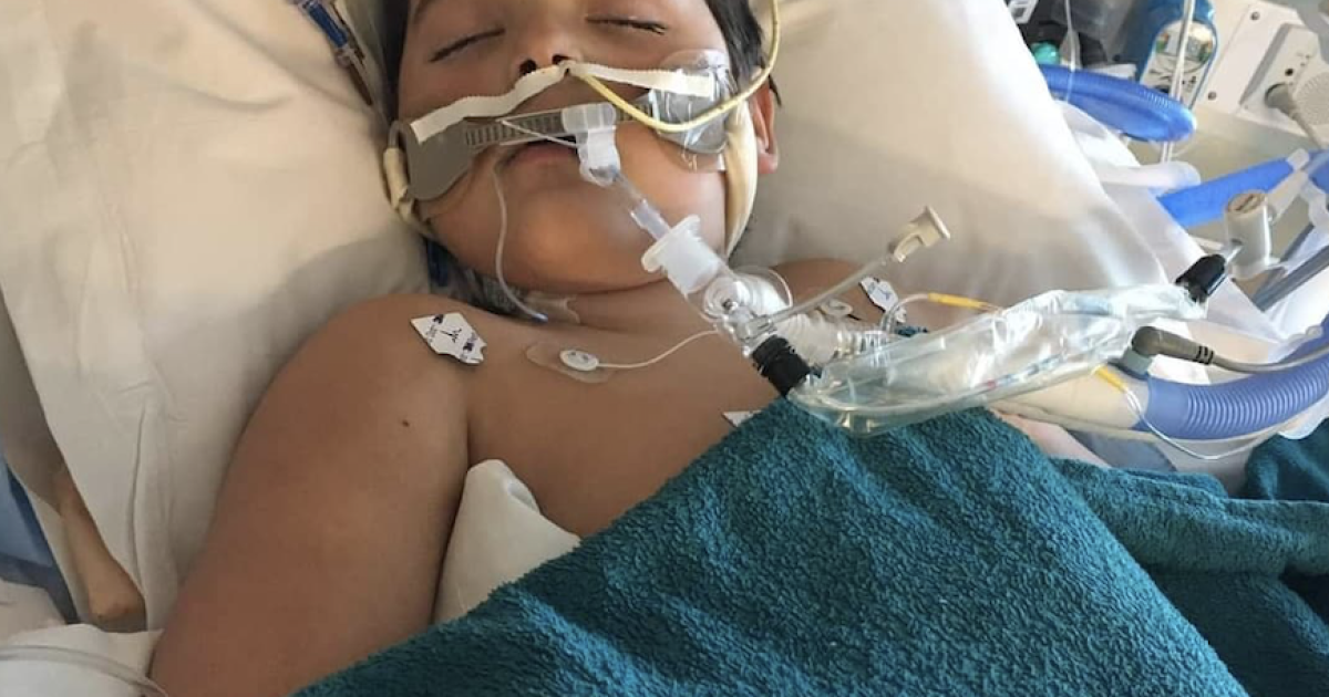 """""""I didn't think it was that big of a deal, until my son's life was plugged into the wall."""" Muskegon mother recounts child's battle with MIS-C"""