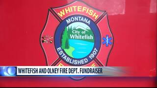 Olney and Whitefish emergency responders fund raise for six year old injured girl.