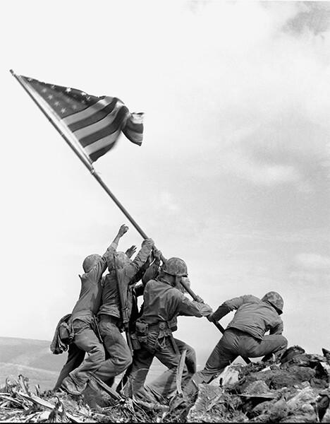 1945, Raising the Flag on Iwo Jima