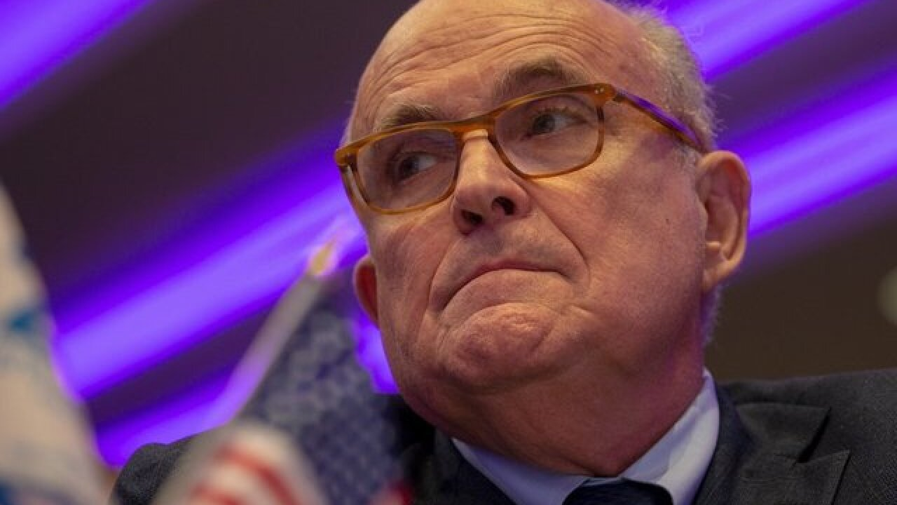 Rudy Giuliani mistakenly endorses Michigan Senate candidate 'Don James'