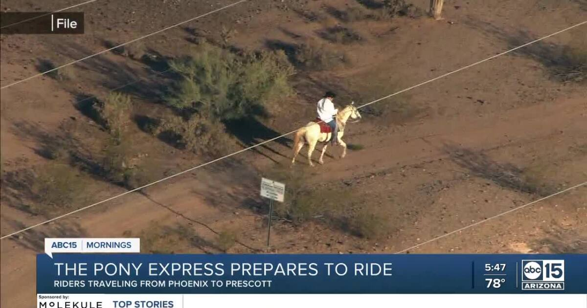 Pony Express begins two-day journey raising money for Horses Help