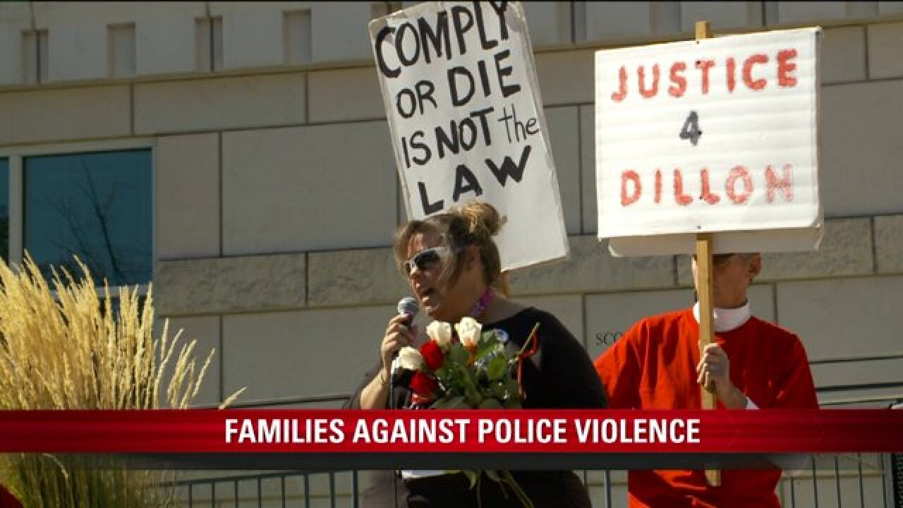 Family of Utahns shot, killed by cops among those at rally against policeviolence