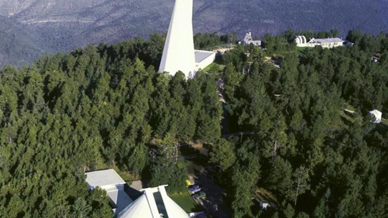 Why was an observatory in remote New Mexico mysteriously evacuated?
