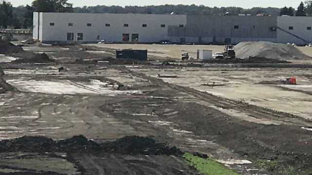 Take a first look at the Foxconn construction site [PHOTOS]