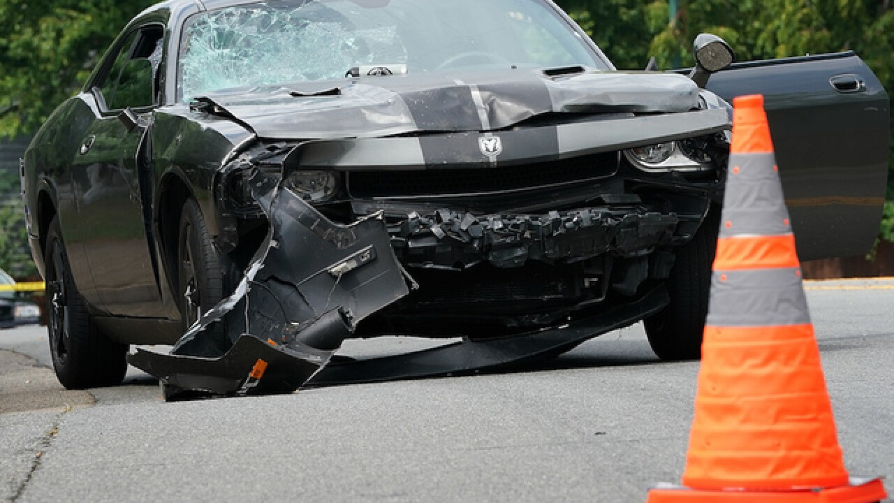Charlottesville car crash suspect ID'd as 20-year-old Ohio man