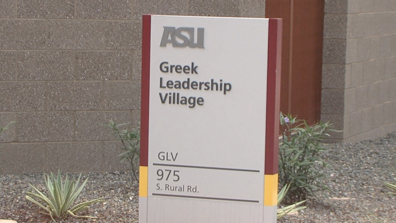 Greek Leadership Village at ASU in Tempe