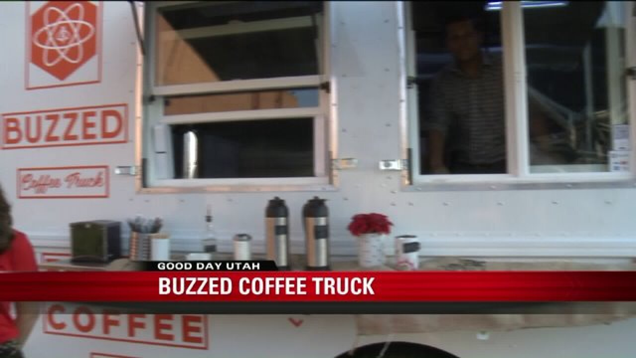 Buzzed Coffee Truck kick starts the morning with Good Day Utah