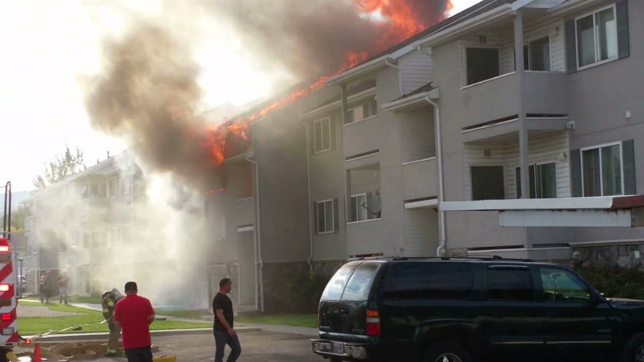 Six homes damaged, family pet lost in 3-alarm Magna apartment fire