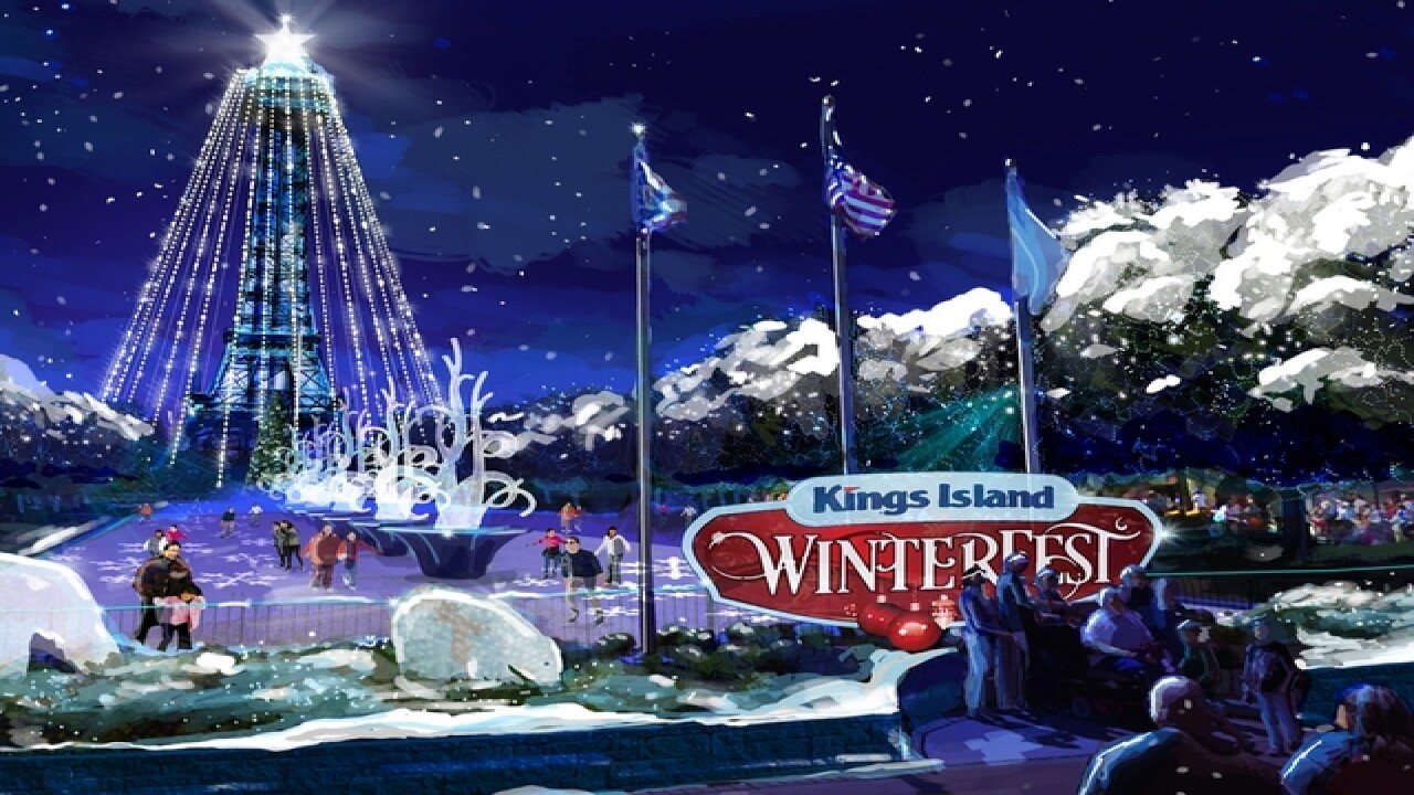 Kings Island to bring back holiday-themed Winterfest