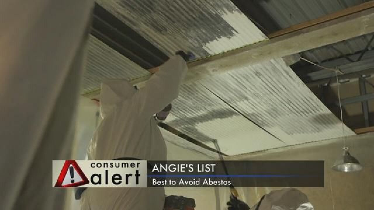 Angie's List: Dealing with Asbestos