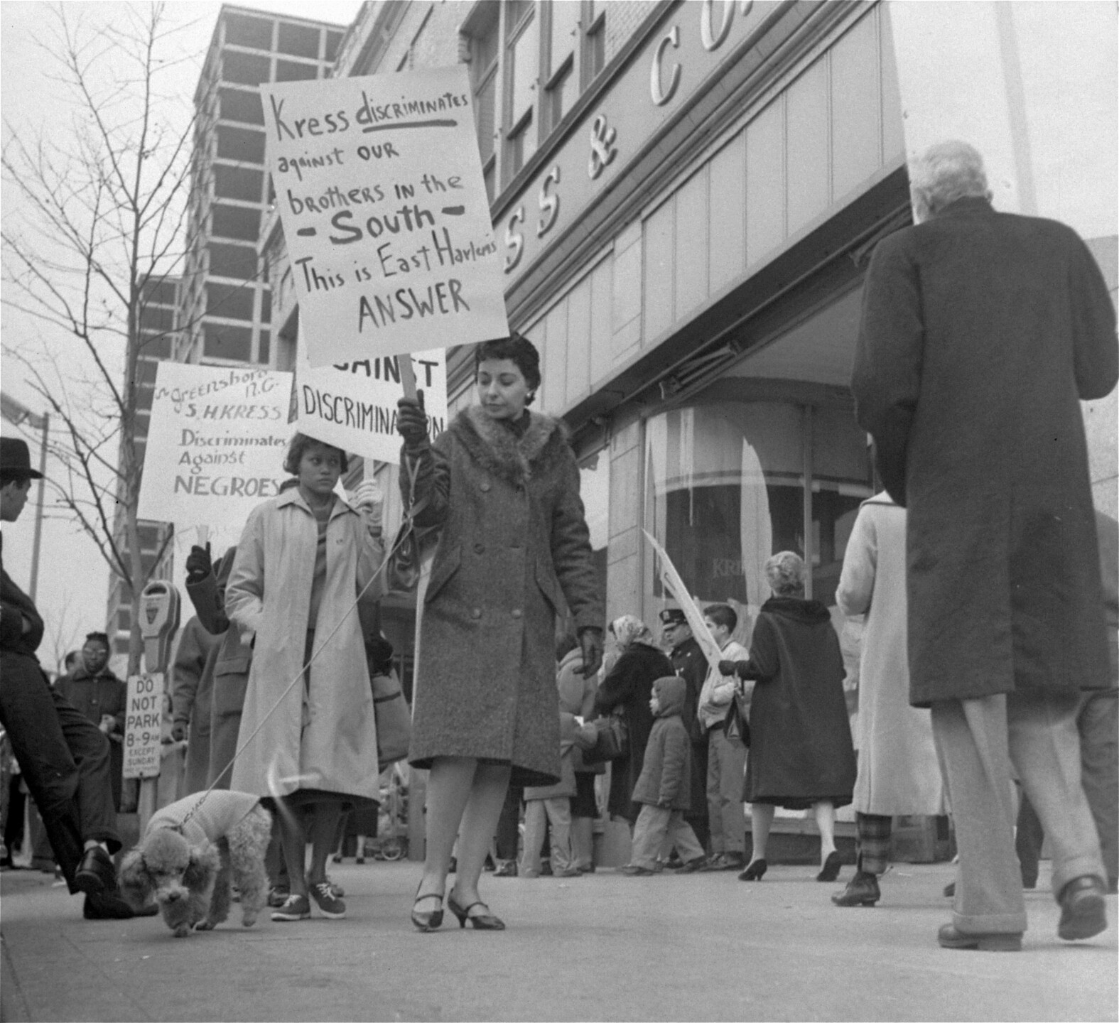 PICKETS AGAINST SEGREGATION