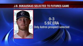 Hooks pitcher J.B. Bukauskas picked for All-Star Futures Game