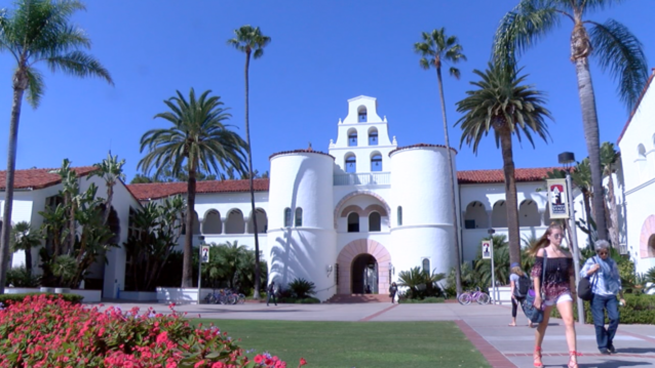 Man arrested for SDSU thefts