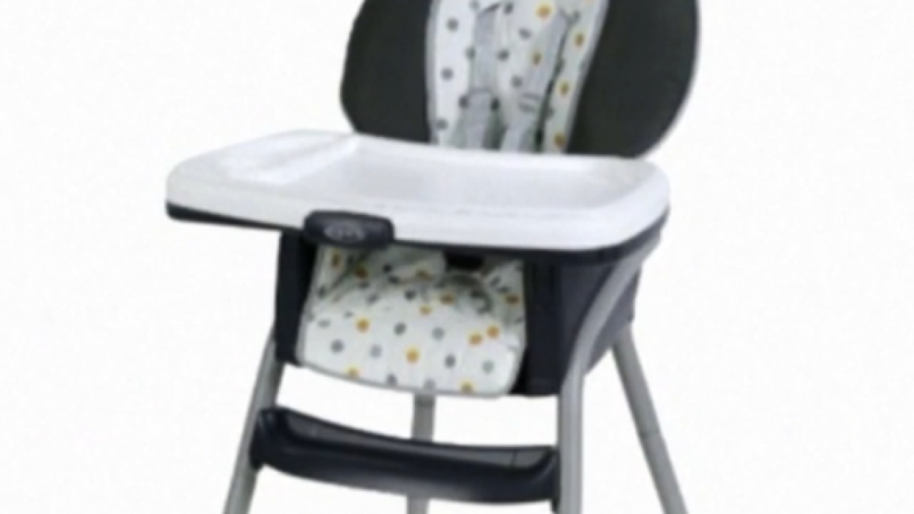 Graco recalling highchairs sold exclusively at Walmart