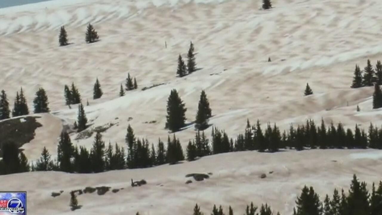 'Desert Dust' causes Colorado's snowpack to melt