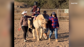 Local riding center helping students with special needs