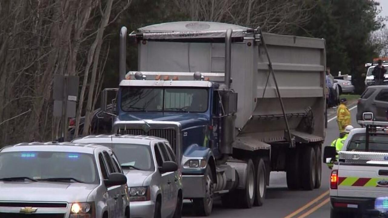 2 children hit, killed by tractor-trailer while walking to board school bus in BuckinghamCounty