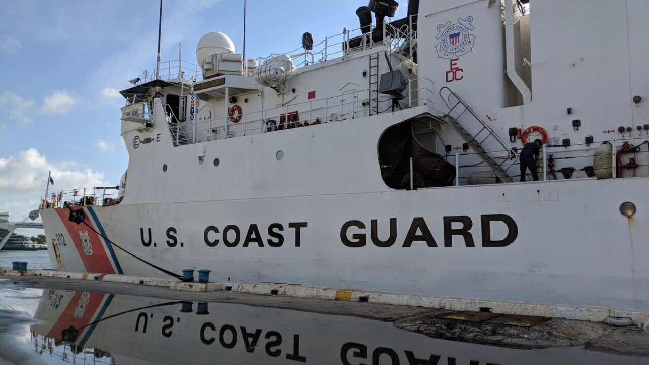 Local Coast Guard Cutters involved in seizure of 12+ tons of illegal drugs in Eastern Pacific