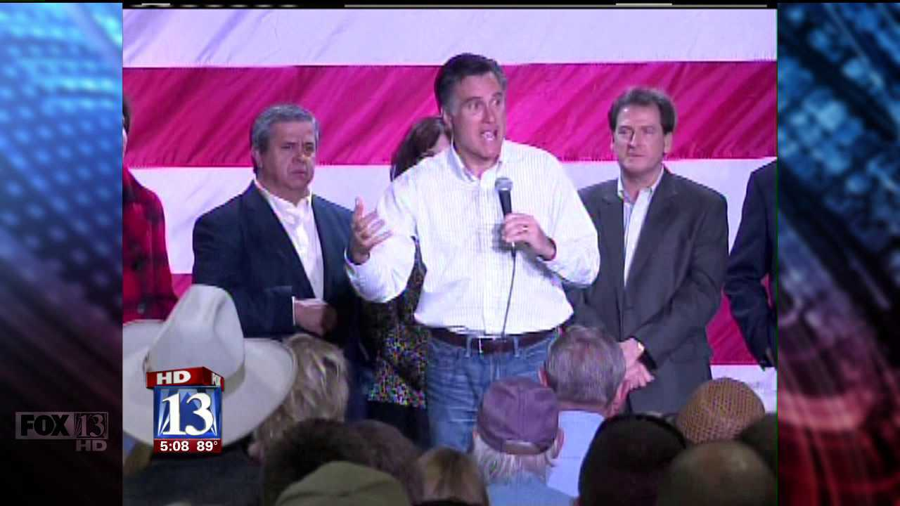 Romney gets Utah support at RNC convention