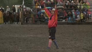 Livingston Roundup makes great 1st Montana impression on rodeo clown Jason Farley