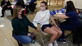 Kids vaccine AP