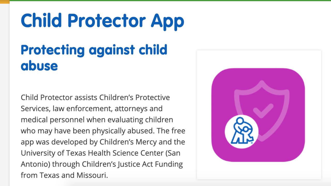 Child Protector App