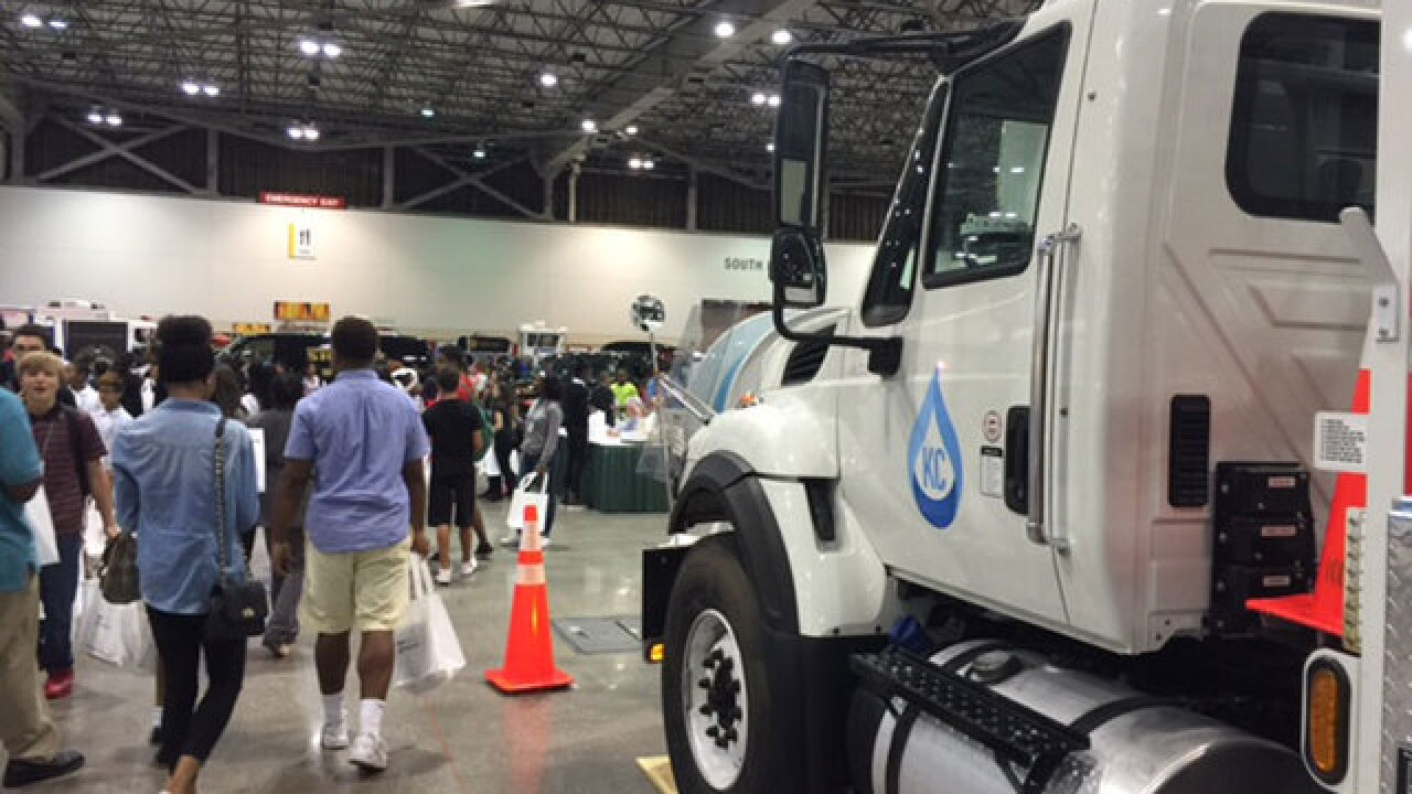 Job fair for kids held at Bartle Hall