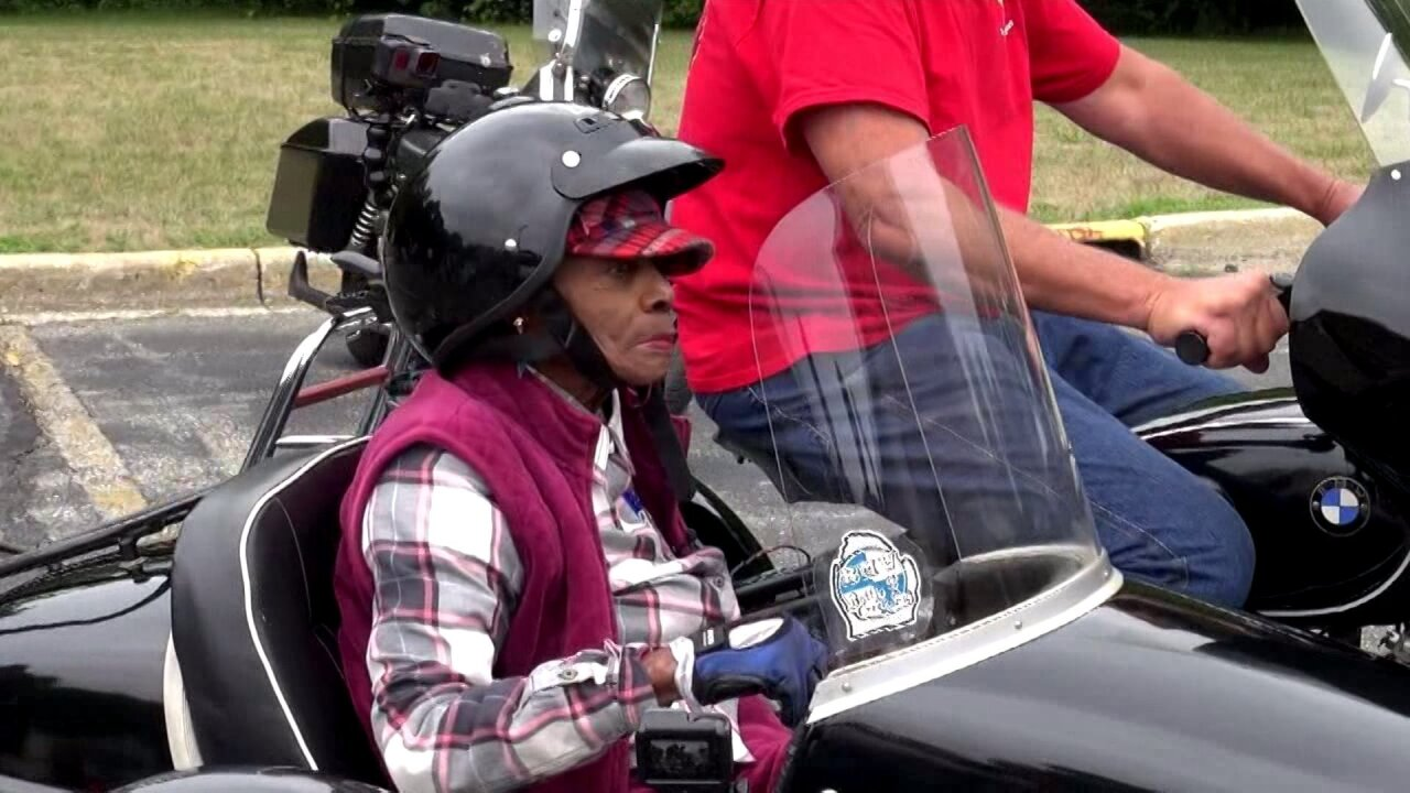 107-year-old woman crosses motorcycle ride off bucketlist