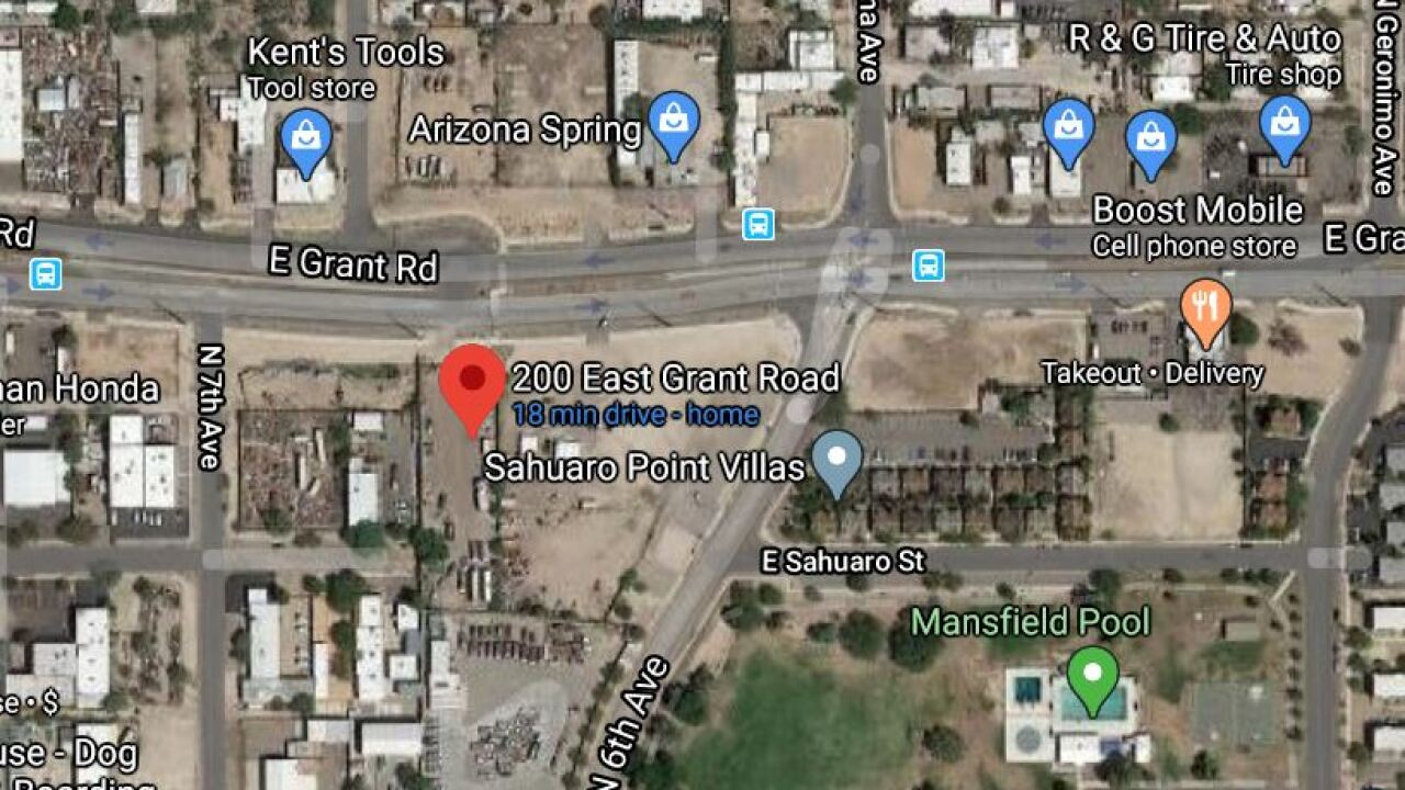 Tucson police are looking for a driver who hit a pedestrian in a hit-and-run last week. Photo via Google Maps.