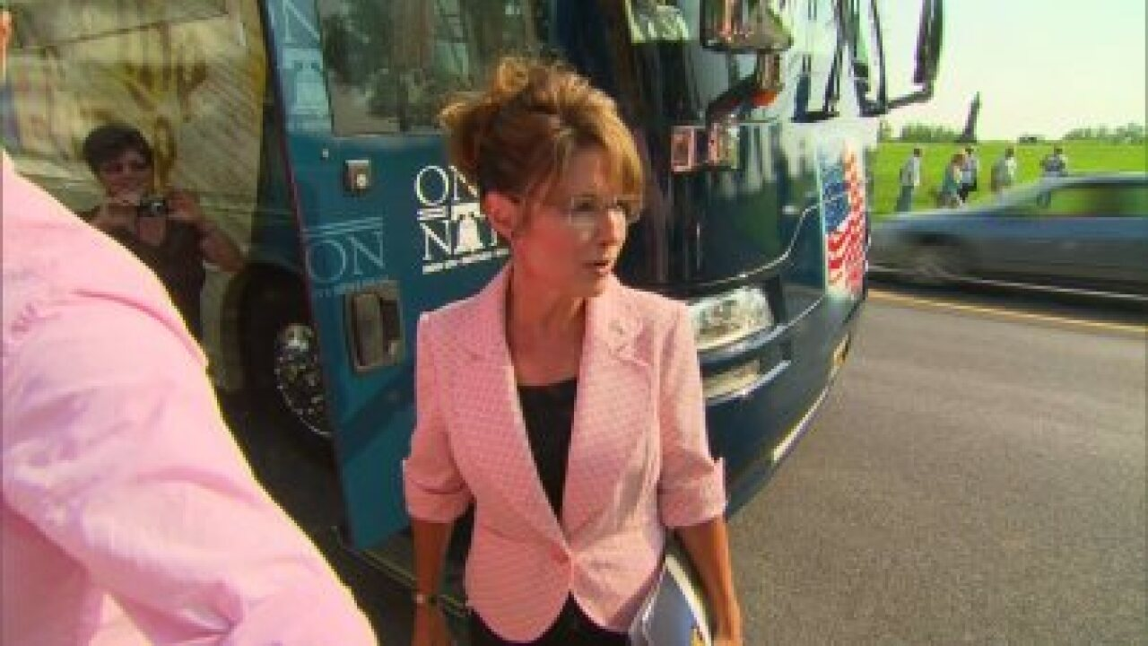 Sarah Palin alludes that Fox News cancelled interviews