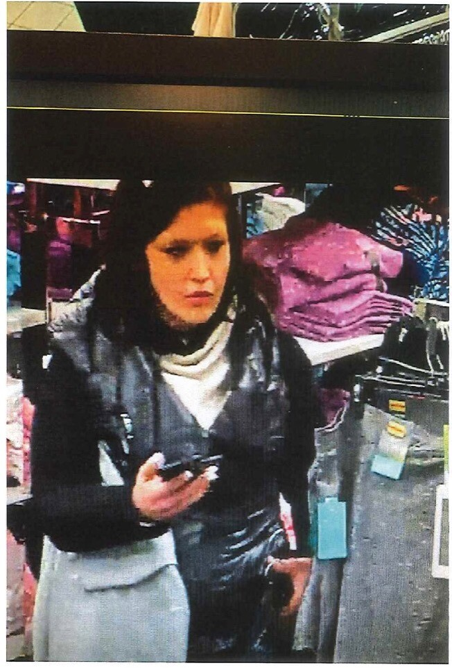 Alleged shoplifter