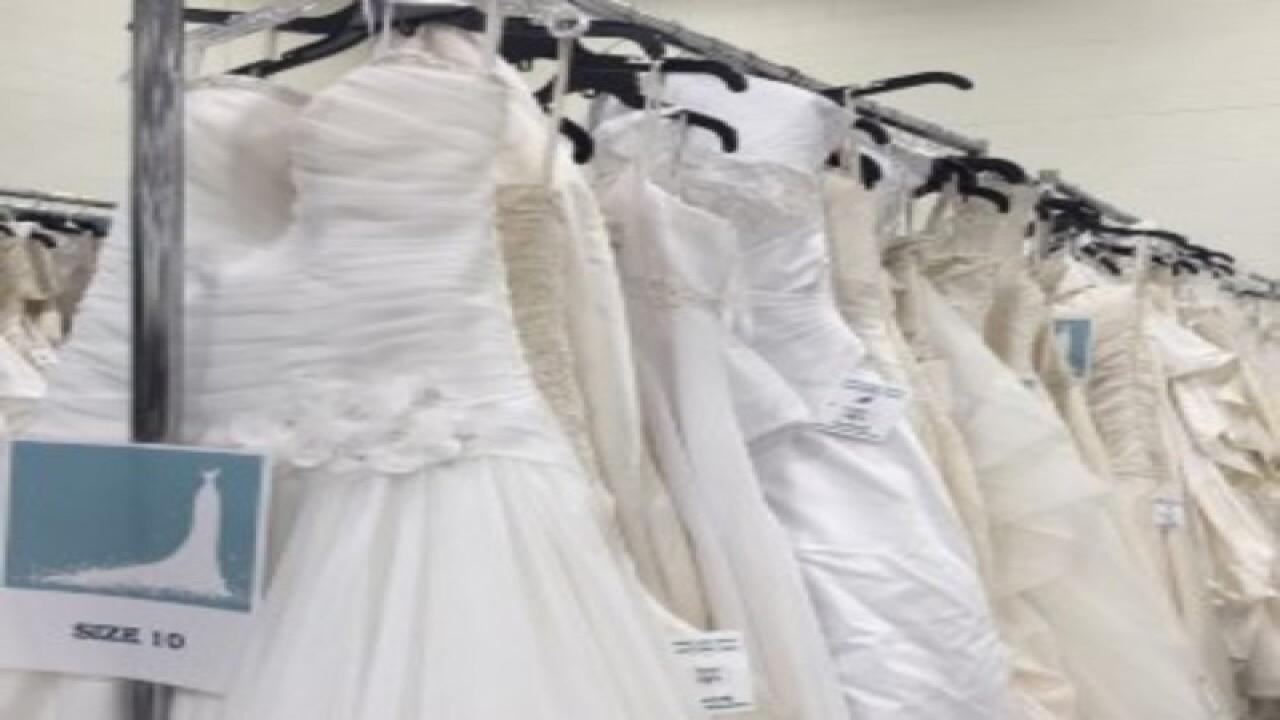 Dress Deals At Local Goodwill Wedding Gown Gala