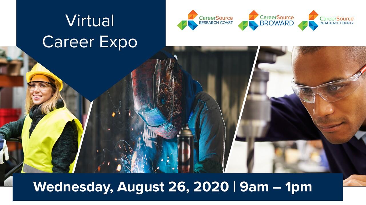 Virtual job fair on Aug. 26, 2020