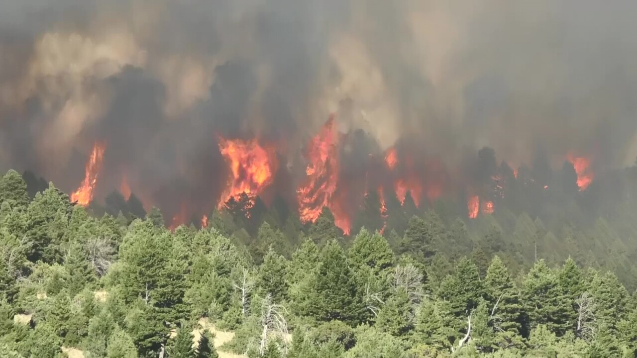 Bridger Foothills Fire grows to 400+ acres