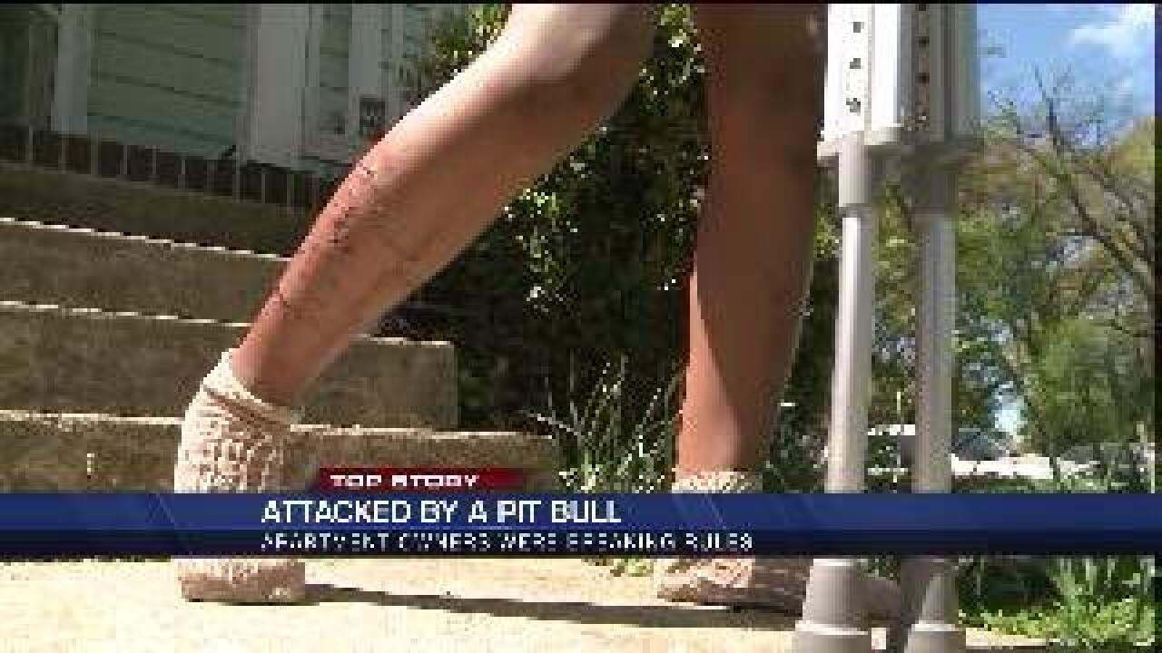 Dog attack left Richmond 9-year-old on crutches with 37 stitches