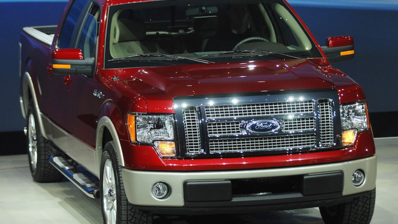 Ford suspends production of F-150 trucks