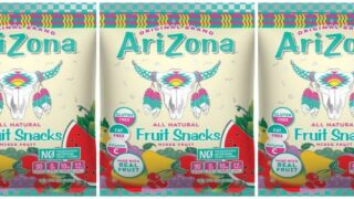 You Can Buy Fruit Snacks Flavored Like Your Favorite AriZona Iced Teas