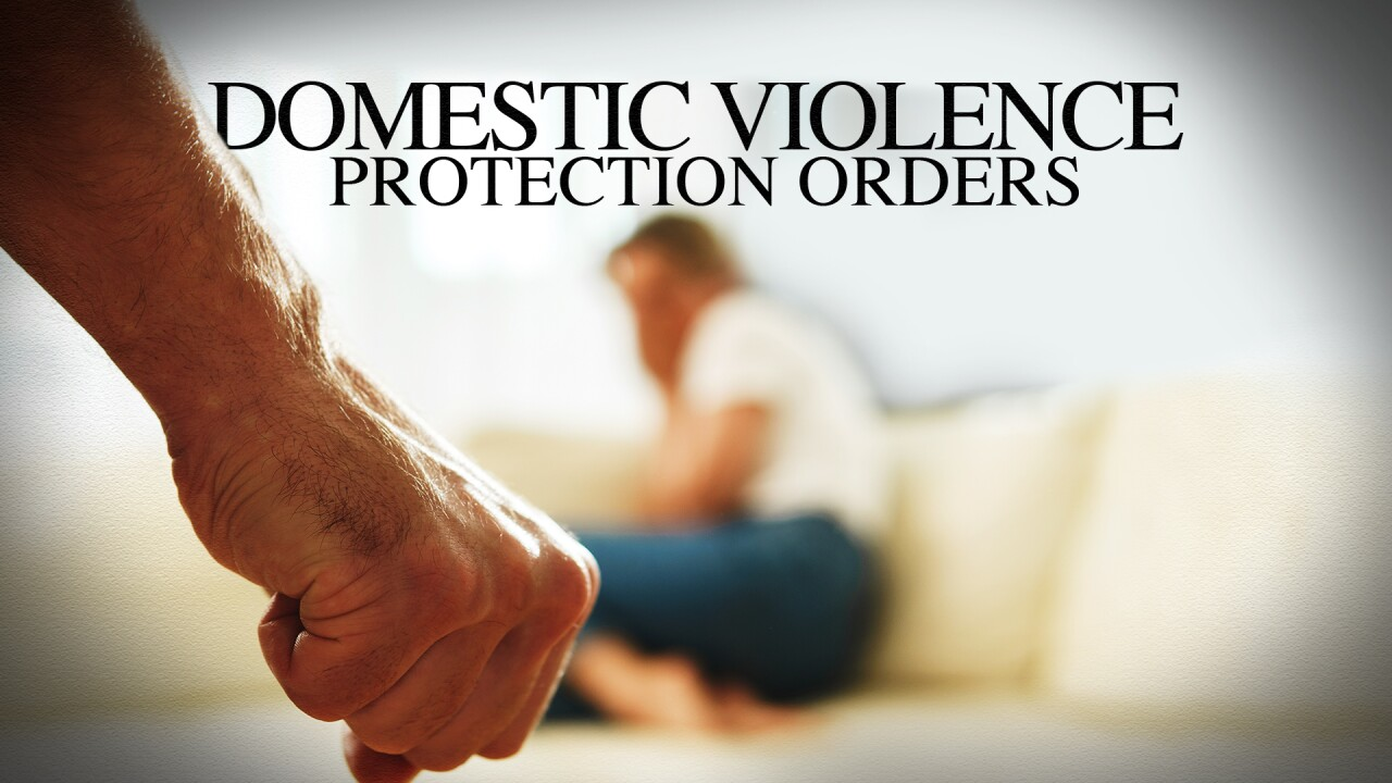 Domestic Violence Protection Orders